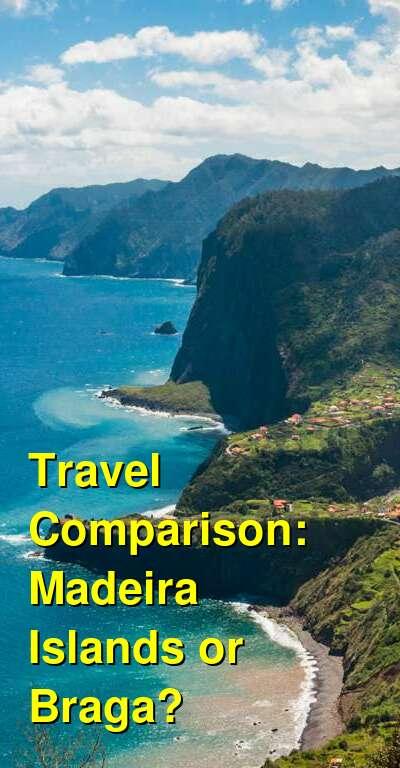 Madeira Islands vs. Braga Travel Comparison