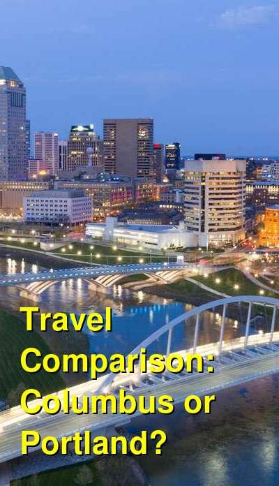 Columbus vs. Portland Travel Comparison