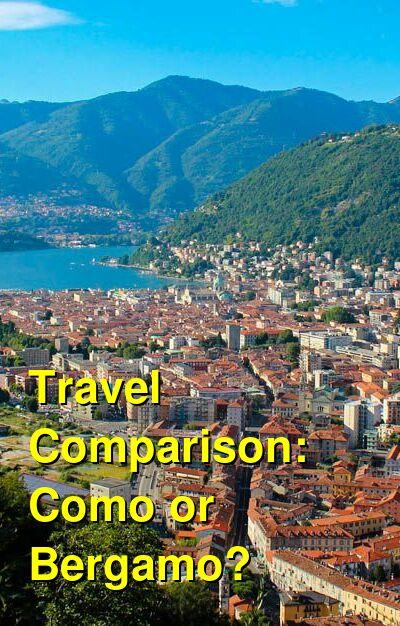 Como vs. Bergamo Travel Comparison