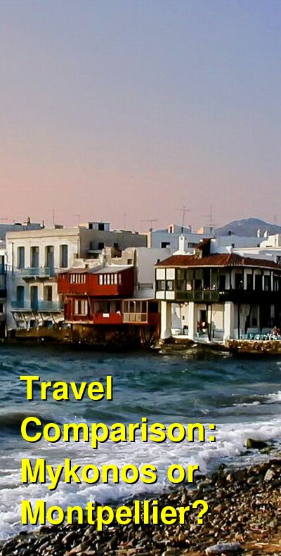Mykonos vs. Montpellier Travel Comparison