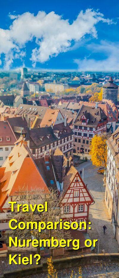 Nuremberg vs. Kiel Travel Comparison