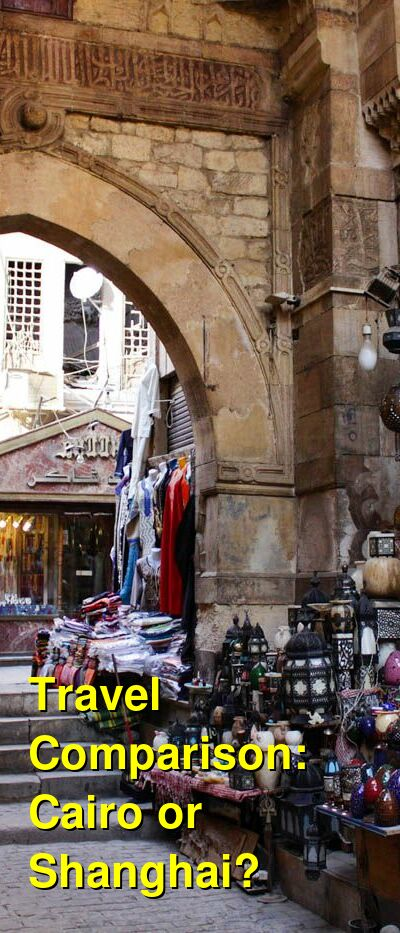 Cairo vs. Shanghai Travel Comparison