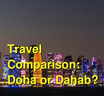 Doha vs. Dahab Travel Comparison