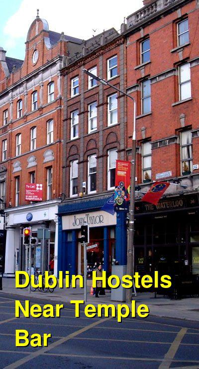 Dublin Hostels Near Temple Bar | Budget Your Trip