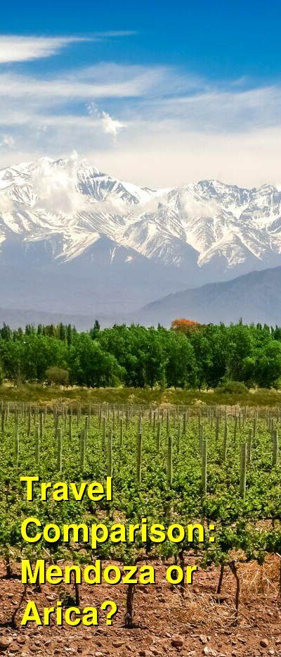 Mendoza vs. Arica Travel Comparison