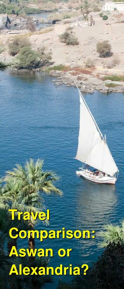 Aswan vs. Alexandria Travel Comparison