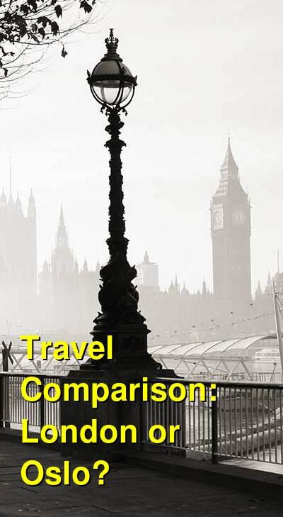 London vs. Oslo Travel Comparison