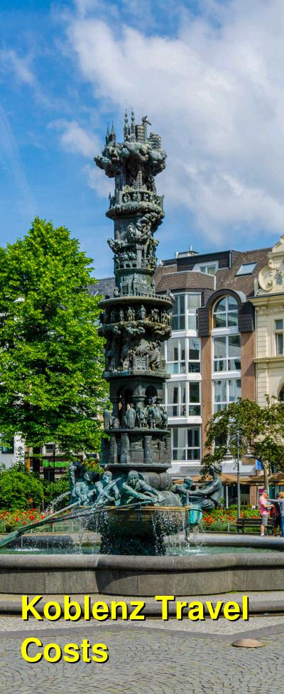 Koblenz Travel Cost - Average Price of a Vacation to Koblenz: Food & Meal Budget, Daily & Weekly Expenses | BudgetYourTrip.com
