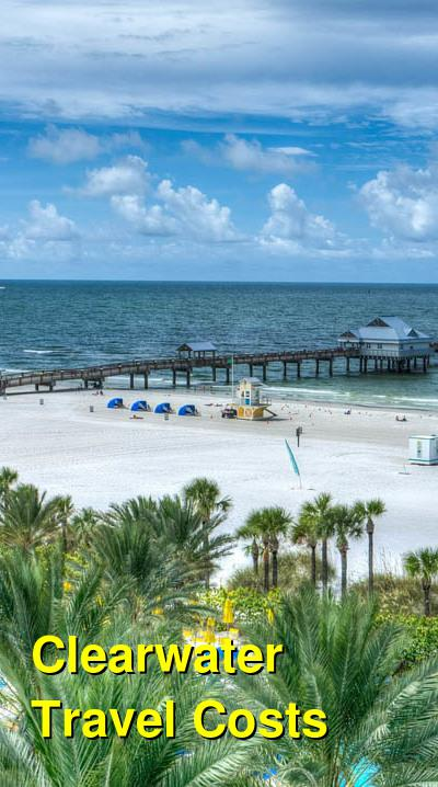 Clearwater Travel Cost - Average Price of a Vacation to Clearwater: Food & Meal Budget, Daily & Weekly Expenses | BudgetYourTrip.com