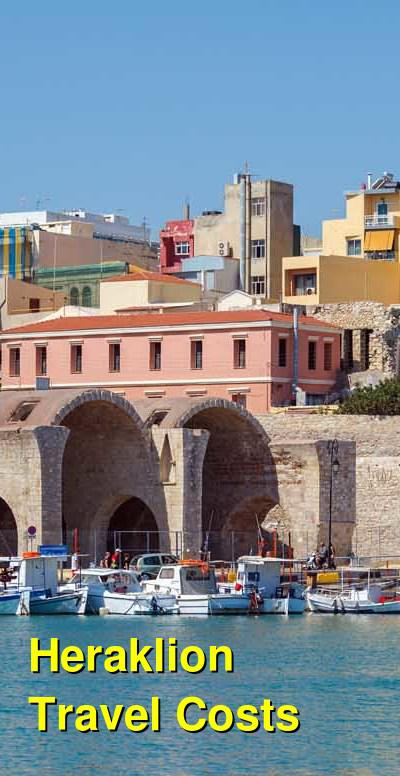 Heraklion Travel Cost - Average Price of a Vacation to Heraklion: Food & Meal Budget, Daily & Weekly Expenses | BudgetYourTrip.com
