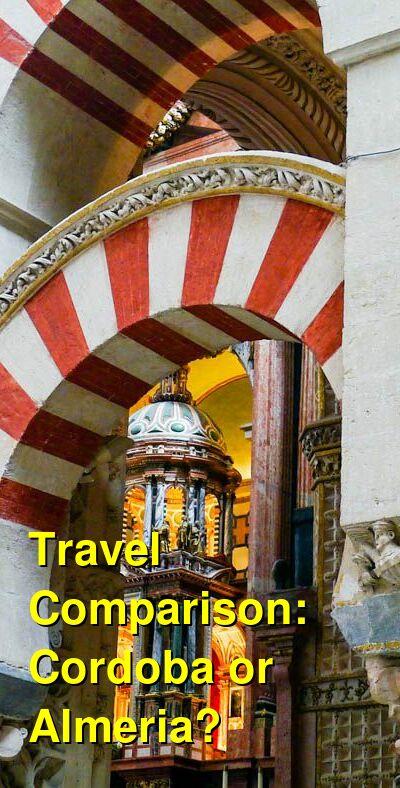 Cordoba vs. Almeria Travel Comparison