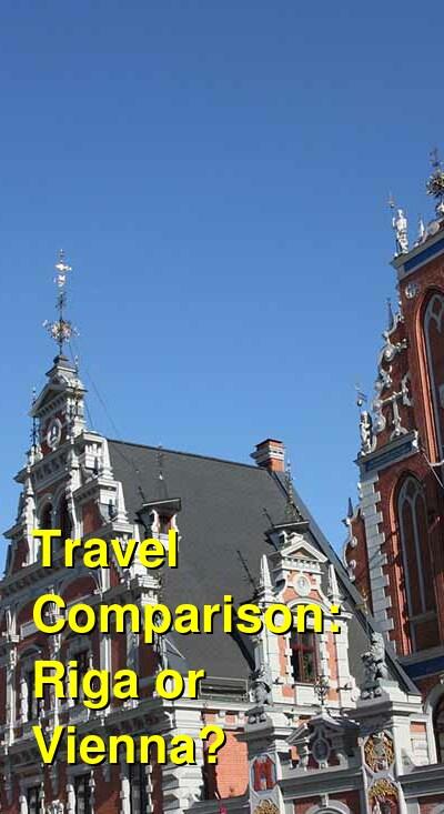 Riga vs. Vienna Travel Comparison