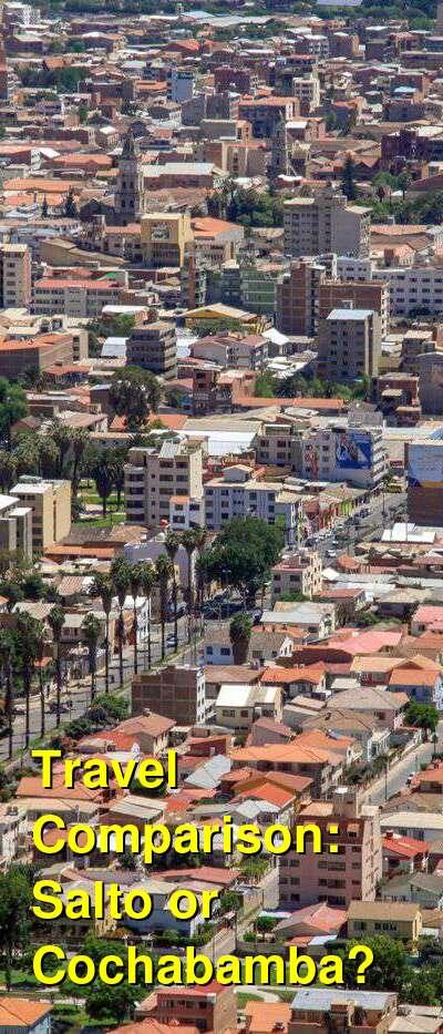 Salto vs. Cochabamba Travel Comparison