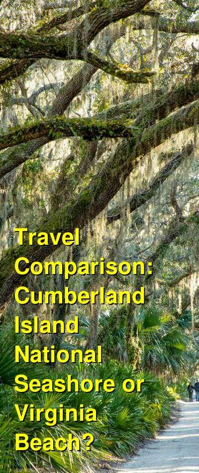 Cumberland Island National Seashore vs. Virginia Beach Travel Comparison