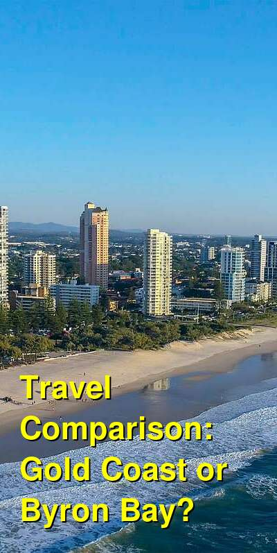 Gold Coast vs. Byron Bay Travel Comparison