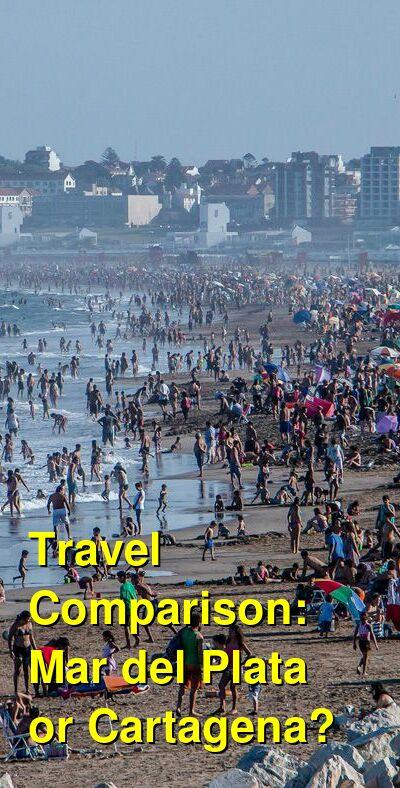 Mar del Plata vs. Cartagena Travel Comparison