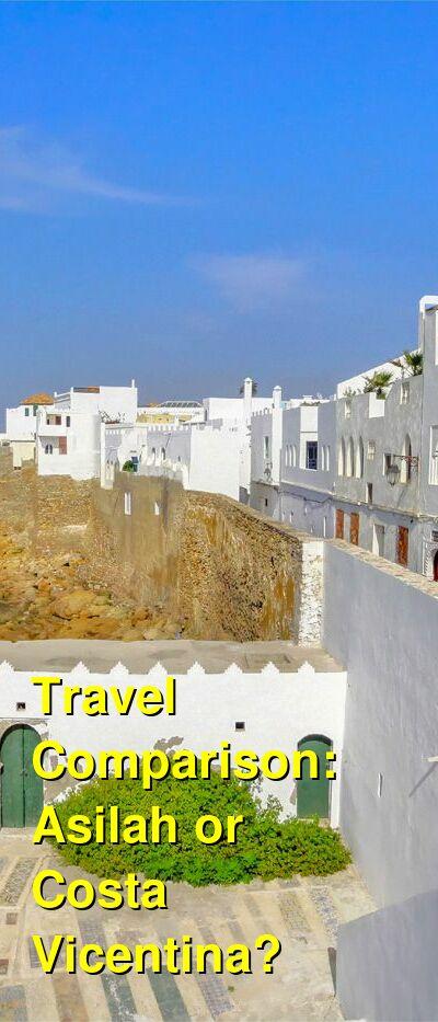Asilah vs. Costa Vicentina Travel Comparison