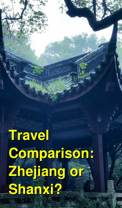 Zhejiang vs. Shanxi Travel Comparison