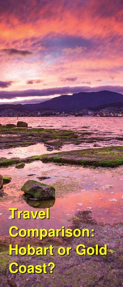 Hobart vs. Gold Coast Travel Comparison