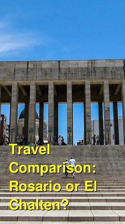 Rosario vs. El Chalten Travel Comparison