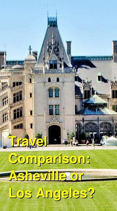 Asheville vs. Los Angeles Travel Comparison