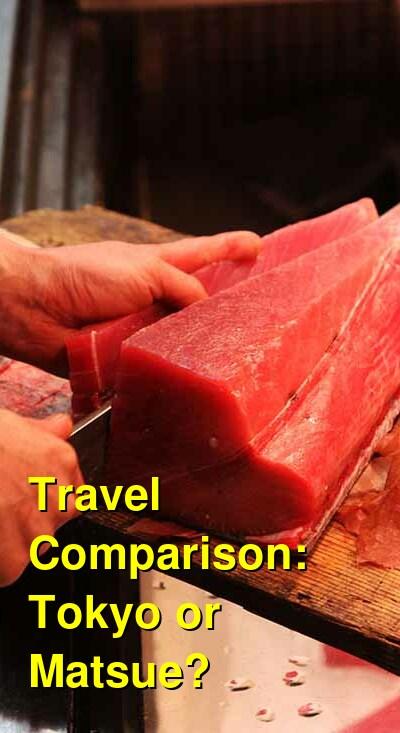 Tokyo vs. Matsue Travel Comparison