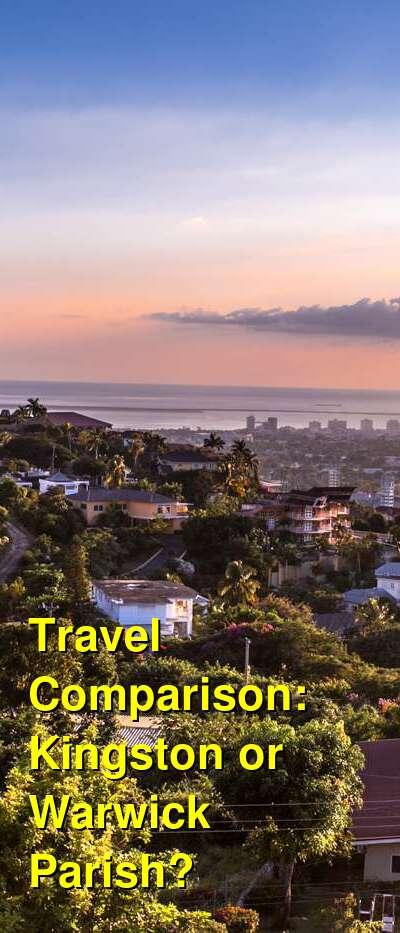 Kingston vs. Warwick Parish Travel Comparison
