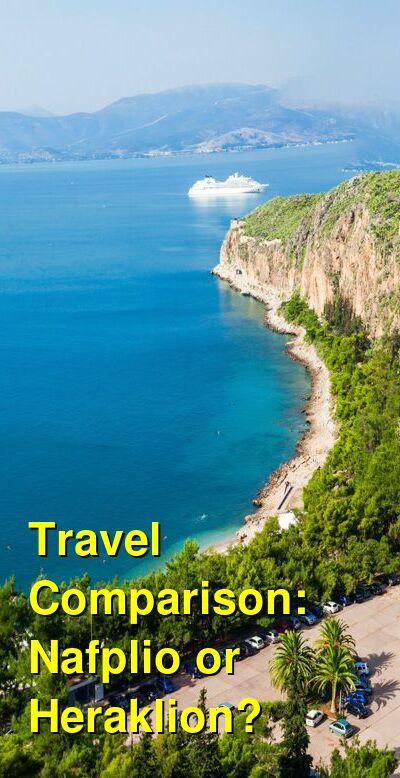 Nafplio vs. Heraklion Travel Comparison