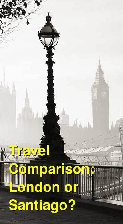 London vs. Santiago Travel Comparison