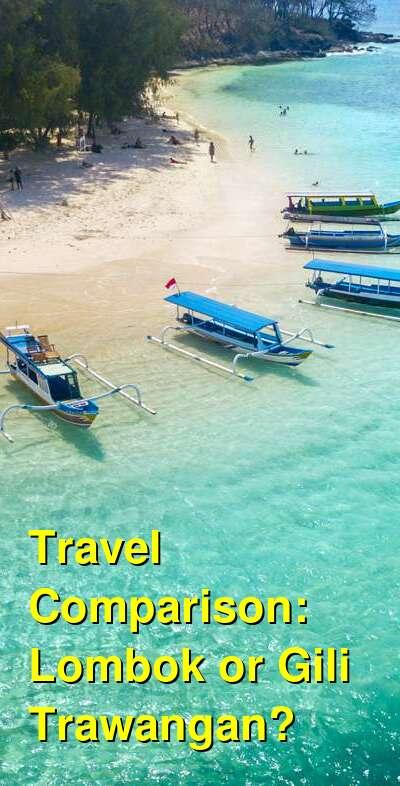 Lombok vs. Gili Trawangan Travel Comparison