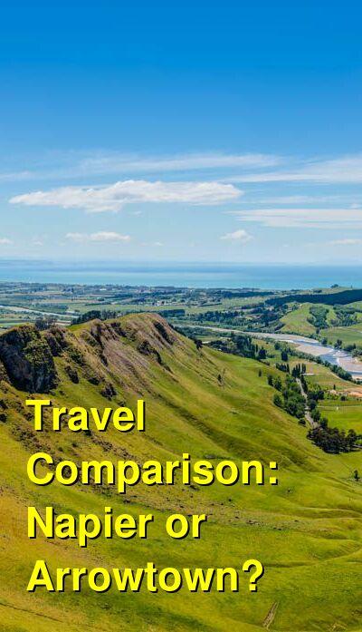Napier vs. Arrowtown Travel Comparison