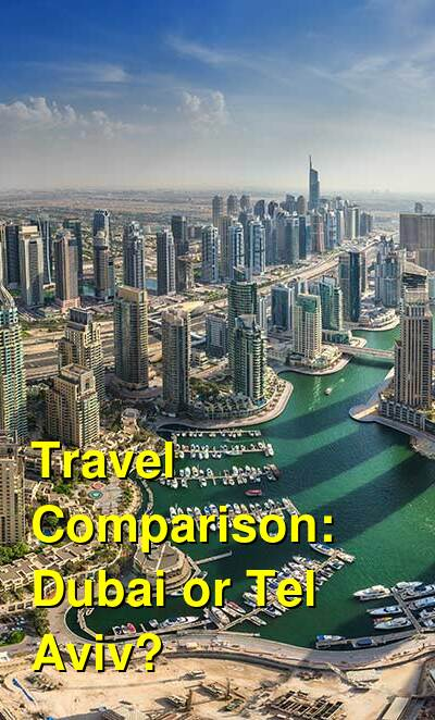 Dubai vs. Tel Aviv Travel Comparison