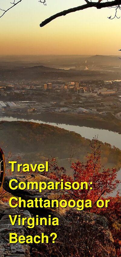 Chattanooga vs. Virginia Beach Travel Comparison