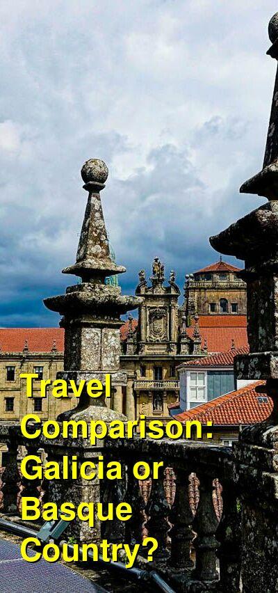 Galicia vs. Basque Country Travel Comparison