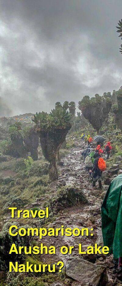 Arusha vs. Lake Nakuru Travel Comparison