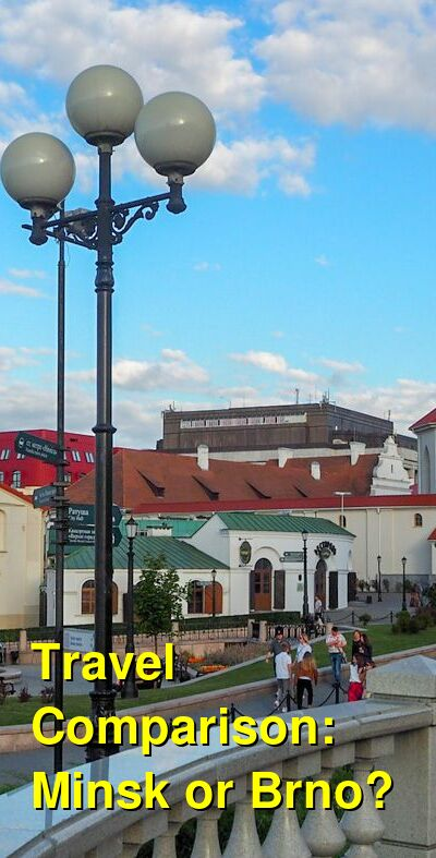 Minsk vs. Brno Travel Comparison