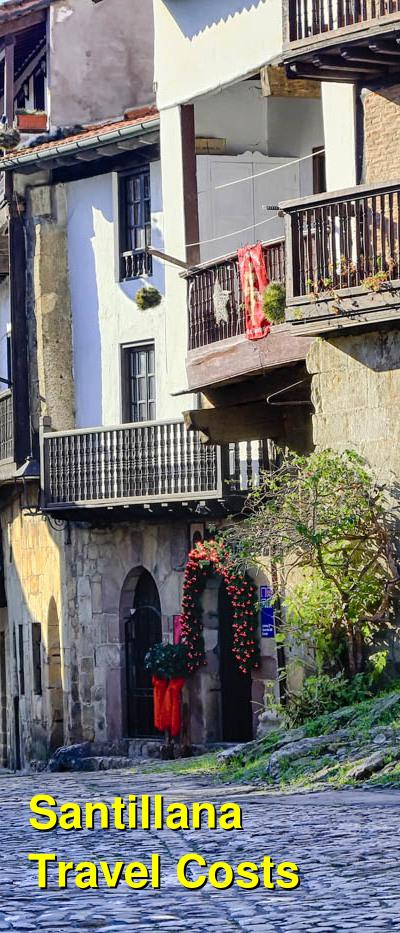 Santillana Travel Costs & Prices - Altamira Caves, Old Town, Beaches, Shopping | BudgetYourTrip.com