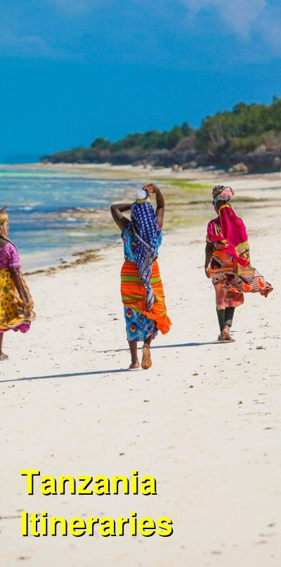 Tanzania Suggested Itineraries | BudgetYourTrip.com
