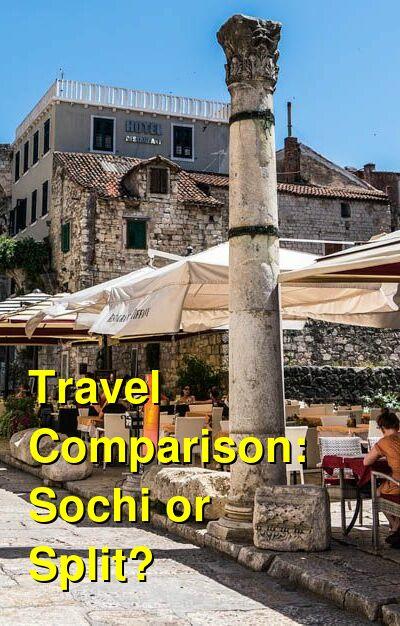 Sochi vs. Split Travel Comparison