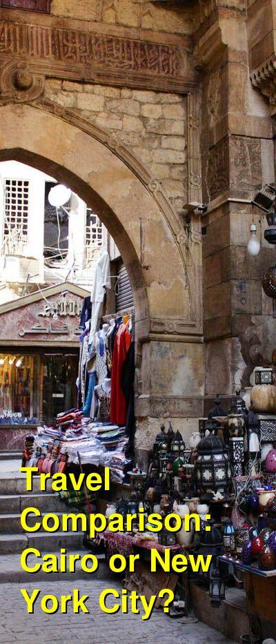 Cairo vs. New York City Travel Comparison