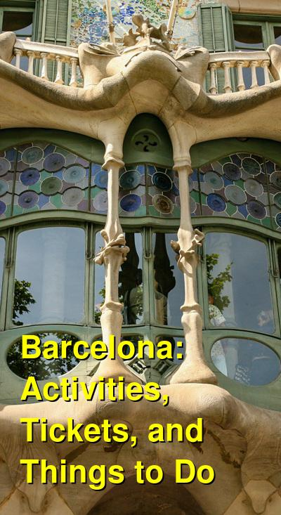Barcelona Activities, Tickets, and Things to Do | Budget Your Trip