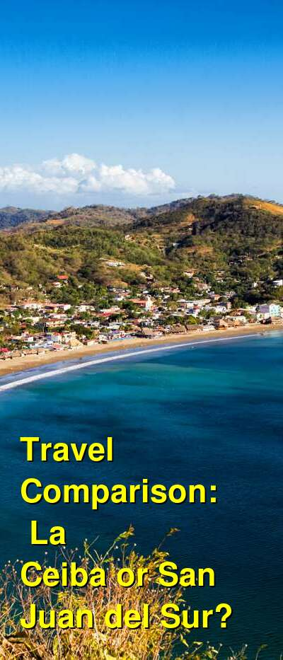 La Ceiba vs. San Juan del Sur Travel Comparison