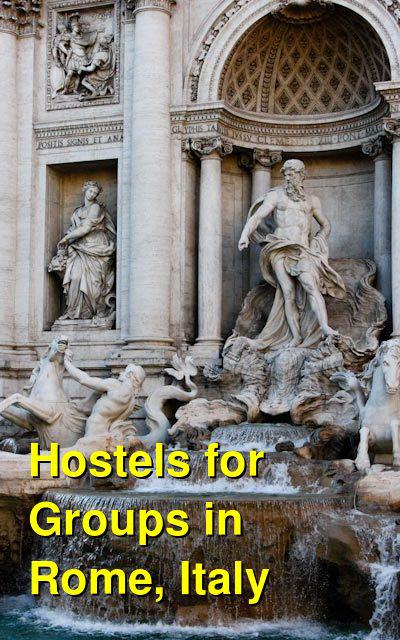 Hostels for Groups in Rome, Italy | Budget Your Trip