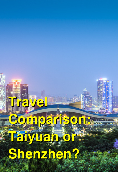 Taiyuan vs. Shenzhen Travel Comparison