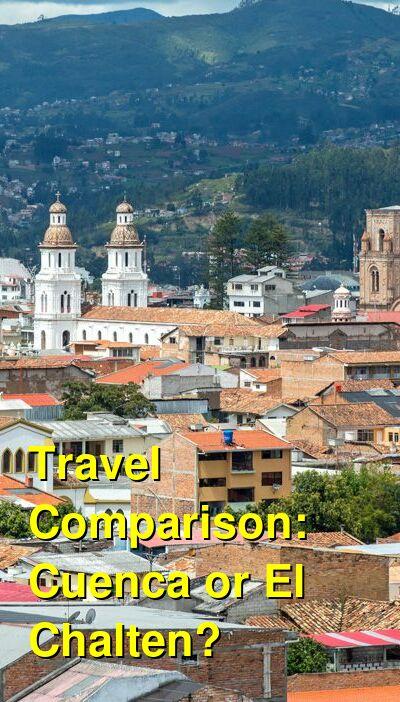Cuenca vs. El Chalten Travel Comparison