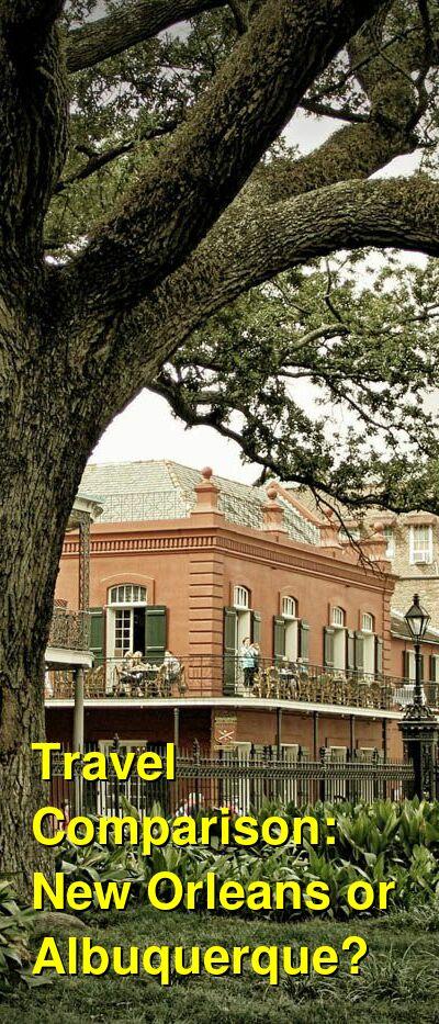 New Orleans vs. Albuquerque Travel Comparison