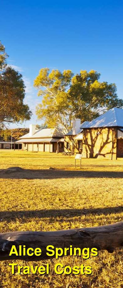Alice Springs Travel Cost - Average Price of a Vacation to Alice Springs: Food & Meal Budget, Daily & Weekly Expenses | BudgetYourTrip.com