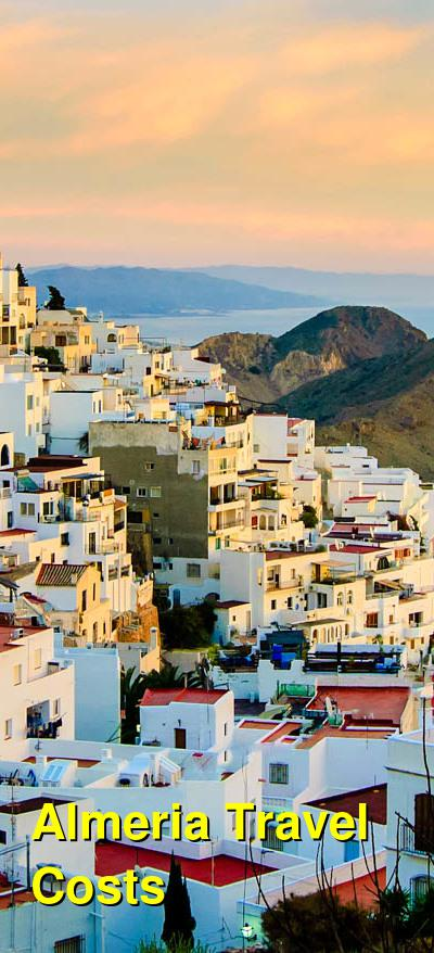 Almeria Travel Cost - Average Price of a Vacation to Almeria: Food & Meal Budget, Daily & Weekly Expenses | BudgetYourTrip.com