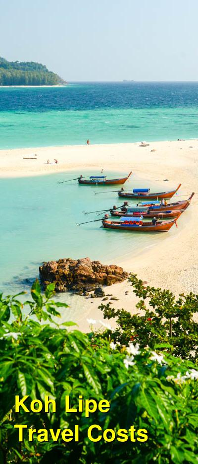 Koh Lipe Travel Cost - Average Price of a Vacation to Koh Lipe: Food & Meal Budget, Daily & Weekly Expenses | BudgetYourTrip.com