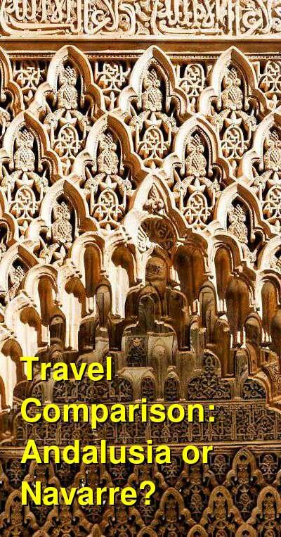 Andalusia vs. Navarre Travel Comparison